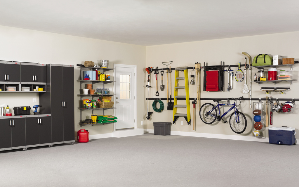 One Car Garage Organization Ideas Part