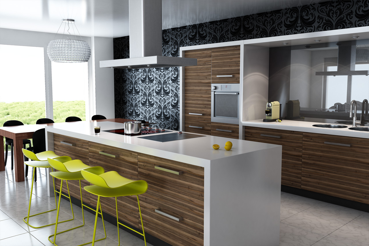 Modern Kitchens that Help You Do More City Renovations