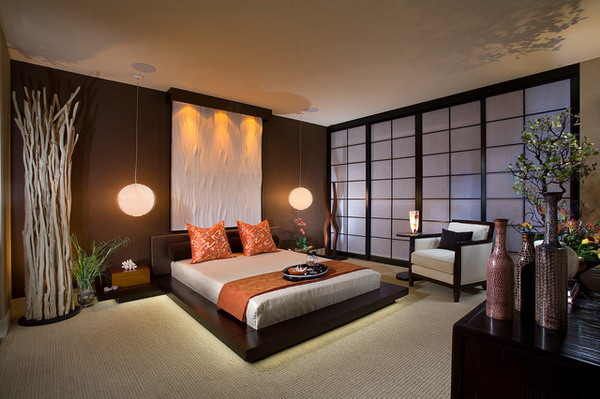 Modern Master Bedroom Ideas Within Asian Theme